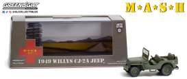 Willys Jeep - CJ-2A 1949 army - 1:43 - GreenLight - 86592 - gl86592 | Toms Modelautos