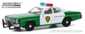 Plymouth  - Fury 1975  - 1:43 - GreenLight - 86595 - gl86595 | Toms Modelautos