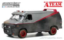 GMC  - Vandura 1983  - 1:24 - GreenLight - 84112 - gl84112 | Toms Modelautos