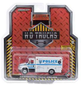 International  - Durastar 2013 white/blue - 1:64 - GreenLight - 33190B - gl33190B | Toms Modelautos