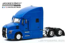 Mack  - Anthem Truck 2019 blue - 1:64 - GreenLight - 45100B - gl45100B | Toms Modelautos
