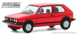 Volkswagen  - Golf GTI 1982 red - 1:64 - GreenLight - 47080B - gl47080B | Toms Modelautos