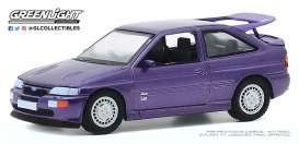 Ford  - Escort RS 1994 violet - 1:64 - GreenLight - 47080D - gl47080D | Toms Modelautos