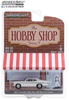 Chevrolet  - Rally Nova 1972 white/black - 1:64 - GreenLight - 97090C - gl97090C | Toms Modelautos