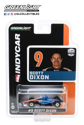 Honda  - 2020 blue/orange - 1:64 - GreenLight - 10875 - gl10875 | Toms Modelautos