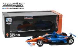 Honda  - 2020 blue/orange - 1:18 - GreenLight - 11091 - gl11091 | Toms Modelautos
