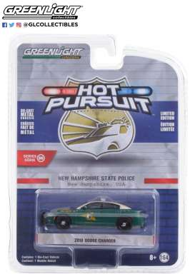 Dodge  - Charger 2018 green - 1:64 - GreenLight - 42930E - gl42930E | Toms Modelautos