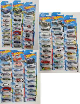 Assortment/ Mix  - various - 1:64 - Hotwheels - C4982 - hwmvC4982-96 | Toms Modelautos