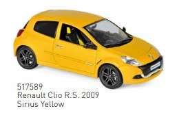 Renault  - Clio 2019 yellow - 1:43 - Norev - 517589 - nor517589 | Toms Modelautos