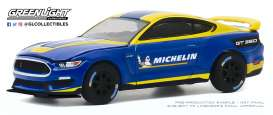 Ford  - Shelby 2019 blue/yellow - 1:64 - GreenLight - 30186 - gl30186 | Toms Modelautos