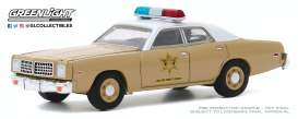Dodge  - Coronet 1975 beige - 1:64 - GreenLight - 30188 - gl30188 | Toms Modelautos