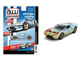 Ford  - GT 1965 blue/orange - 1:64 - Auto World - CP7650 - AWCP7650 | Toms Modelautos