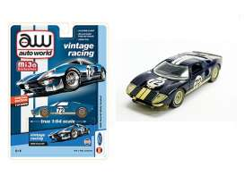 Ford  - GT 1965 dark blue - 1:64 - Auto World - CP7651 - AWCP7651 | Toms Modelautos