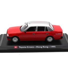 Toyota  - Crown 1995 red - 1:43 - Magazine Models - TX07 - magTX07 | Toms Modelautos