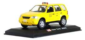 Ford  - Escape 2005 yellow - 1:43 - Magazine Models - TX21 - magTX21 | Toms Modelautos
