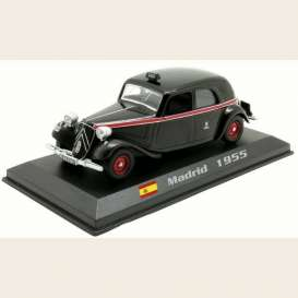 Citroen  - Traction 1955 black/red - 1:43 - Magazine Models - TX24 - magTX24 | Toms Modelautos
