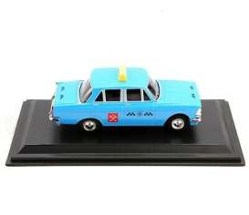 Moskvitch  - 408 1964 blue - 1:43 - Magazine Models - TX33 - magTX33 | Toms Modelautos