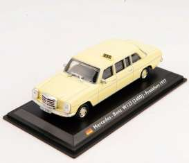 Mercedes Benz  - 240D 1972 cream - 1:43 - Magazine Models - TX34 - magTX34 | Toms Modelautos
