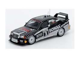Mercedes Benz  - AMG 190E black - 1:64 - Inno Models - in64190EBS3 - in64190EBS3 | Toms Modelautos