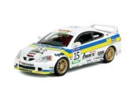 Honda  - Integra 2002 blue/white - 1:64 - Inno Models - in64DC5ML - in64DC5ML | Toms Modelautos