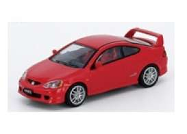 Honda  - Integra red - 1:64 - Inno Models - in64DC5RED - in64DC5RED | Toms Modelautos