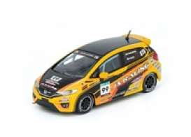 Honda  - Fit 3 RS yellow/black - 1:64 - Inno Models - in64GK5JS99 - in64GK5JS99 | Toms Modelautos