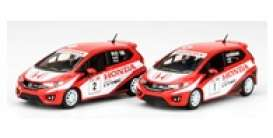 Honda  - Jazz GK5 red/white - 1:64 - Inno Models - in64GK5THRI - in64GK5THRI | Toms Modelautos