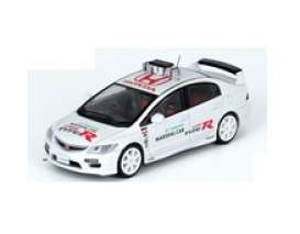 Honda  - Civic  white - 1:64 - Inno Models - in64FD2SMC - in64FD2SMC | Toms Modelautos