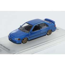 Honda  - Civic  blue - 1:64 - Inno Models - in64EG9BLU - in64EG9BLU | Toms Modelautos