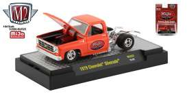 Chevrolet  - Silverado 1979 orange - 1:64 - M2 Machines - 32500MJS22 - M2-32500MJS22 | Toms Modelautos