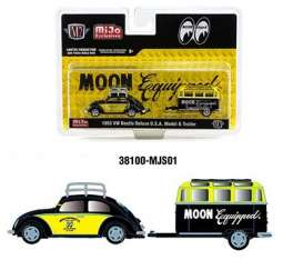Volkswagen  - Beetle 1953 yellow/black - 1:64 - M2 Machines - 38100MJS01 - M2-38100MJS01 | Toms Modelautos