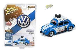 Volkswagen  - Beetle 1970 blue/white - 1:64 - Johnny Lightning - cp7304 - jlcp7304 | Toms Modelautos