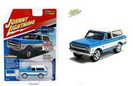 Chevrolet  - Blazer blue/white - 1:64 - Johnny Lightning - cp7313 - jlcp7313 | Toms Modelautos