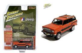 Jeep  - Wagoneer orange - 1:64 - Johnny Lightning - cp7314 - jlcp7314 | Toms Modelautos