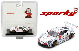 Porsche  - 911 RSR 2018 white/red/black - 1:64 - Spark - Y135 - spaY135MJ | Toms Modelautos