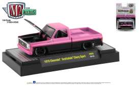 Chevrolet  - Scottsdale 1979 black/pink - 1:64 - M2 Machines - 31500HS05 - M2-31500HS05 | Toms Modelautos