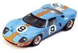 Ford  - 1968 blue/orange - 1:43 - Spark - lm1968 - spalm1968 | Toms Modelautos