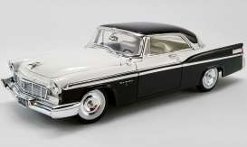 Chrysler  - New Yorker  1956 cloud white/black - 1:18 - Acme Diecast - 1809006 - acme1809006 | Toms Modelautos