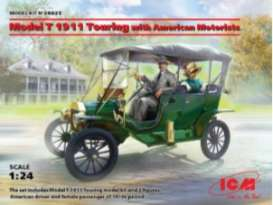 Ford  - 1911  - 1:24 - ICM - 24025 - icm24025 | Toms Modelautos