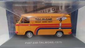 Fiat  - 238 1970 orange - 1:43 - Magazine Models - magkPubFi1970 | Toms Modelautos