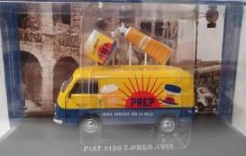 Fiat  - 1100 yellow - 1:43 - Magazine Models - magkPubFiPREP | Toms Modelautos