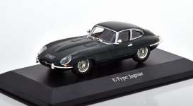 Jaguar  - E-Type green - 1:43 - Magazine Models - magkAt4641102 | Toms Modelautos