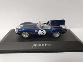 Jaguar  - D-Type blue - 1:43 - Magazine Models - magkAt4641104 | Toms Modelautos