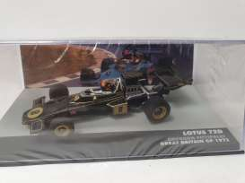 Lotus  - 72D black/gold - 1:43 - Magazine Models - magkF1Fit8 | Toms Modelautos