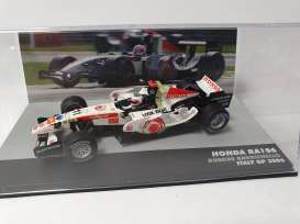 Honda  - RA106 white/red - 1:43 - Magazine Models - magkF1Bar11 | Toms Modelautos
