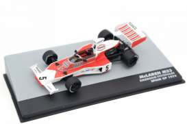 McLaren  - M23 white/red - 1:43 - Magazine Models - magkF1Fit5 | Toms Modelautos
