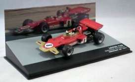 Lotus  - 72D red/gold - 1:43 - Magazine Models - magkF1Eme8 | Toms Modelautos