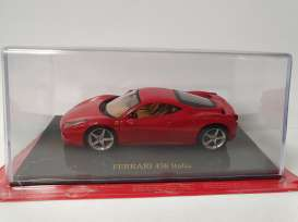 Ferrari  - 2010 red - 1:43 - Magazine Models - Fer458 - MagkFer458 | Toms Modelautos