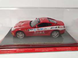 Ferrari  - red - 1:43 - Magazine Models - Fer599Pan - MagkFer599Pan | Toms Modelautos