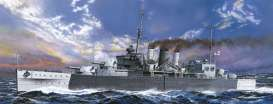 Boats  - British Heavy Cruiser Cornwall  - 1:700 - Aoshima - 05674 - abk05674 | Toms Modelautos